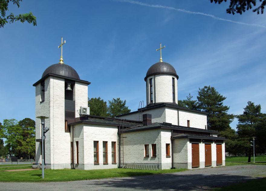 Собор города Пори Финляндия