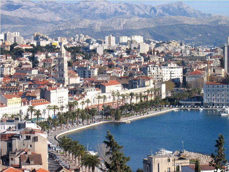 Фото города Сплит Хорватия