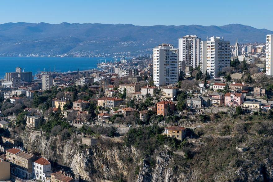 Фото города Риека Хорватия