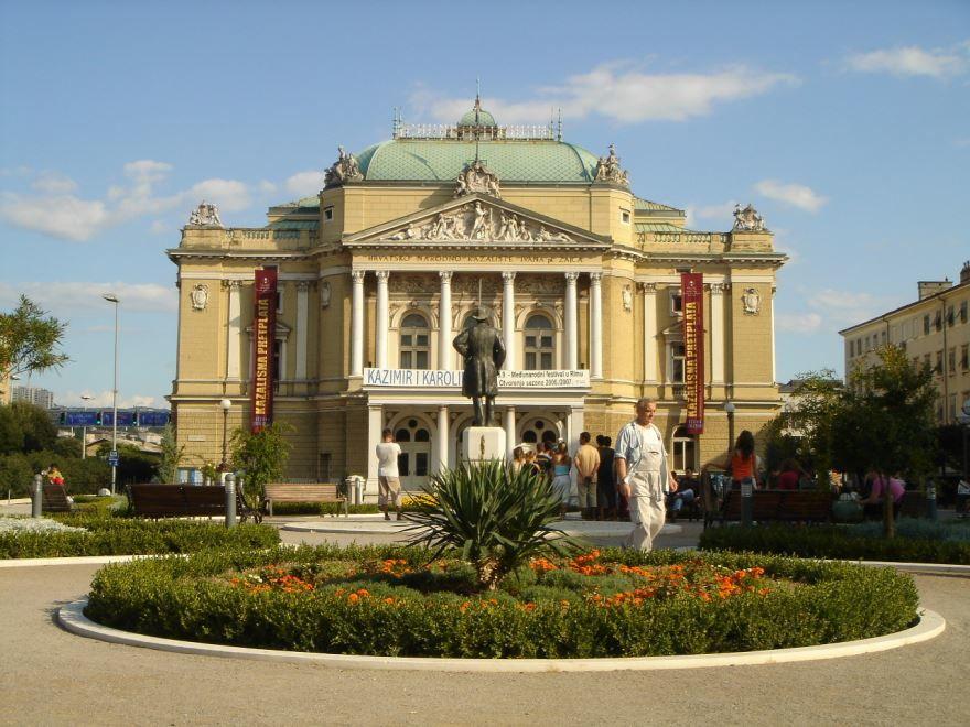 Театр города Риека Хорватия