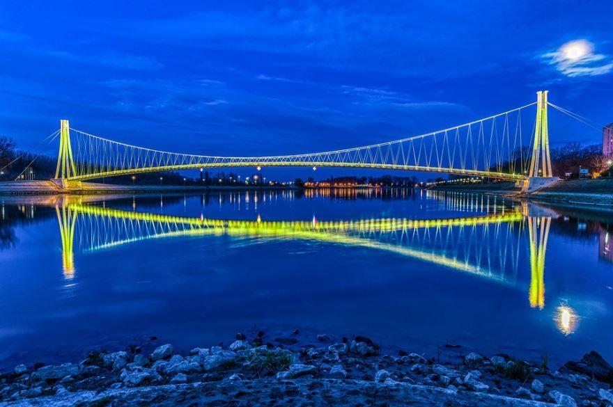 Мост город Осиек