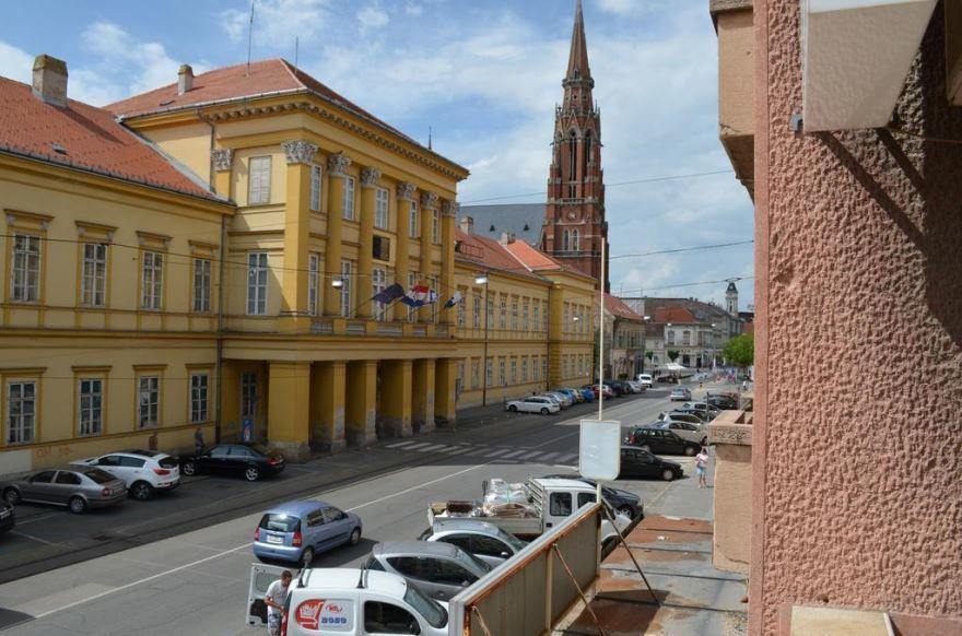 Улица город Осиек