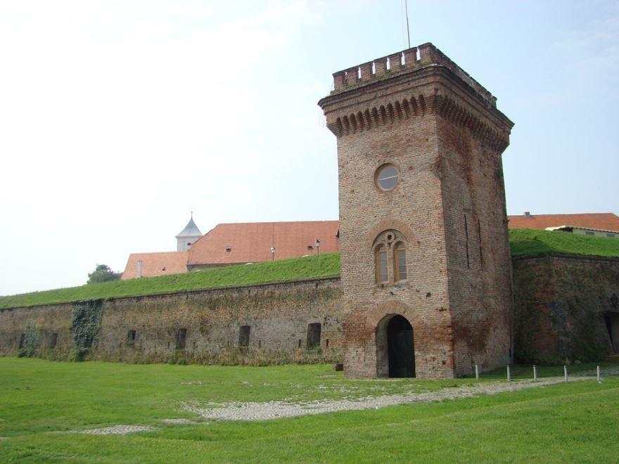 Крепость города Осиек Хорватия