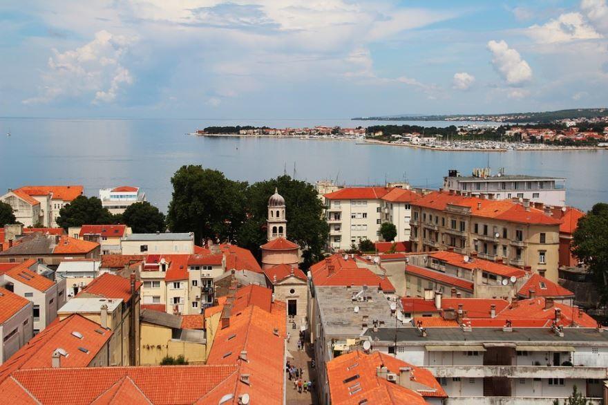 Фото города Задар Хорватия