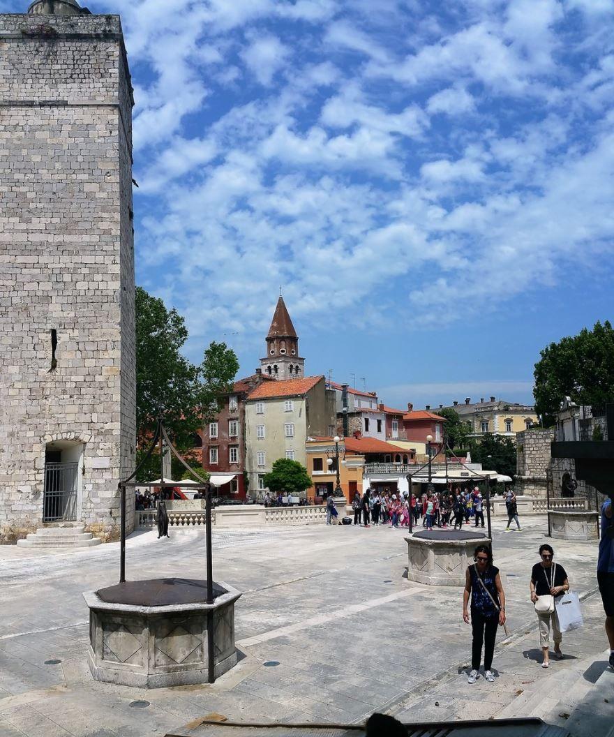 Скачать онлайн бесплатно лучшее фото город Задар в хорошем качестве