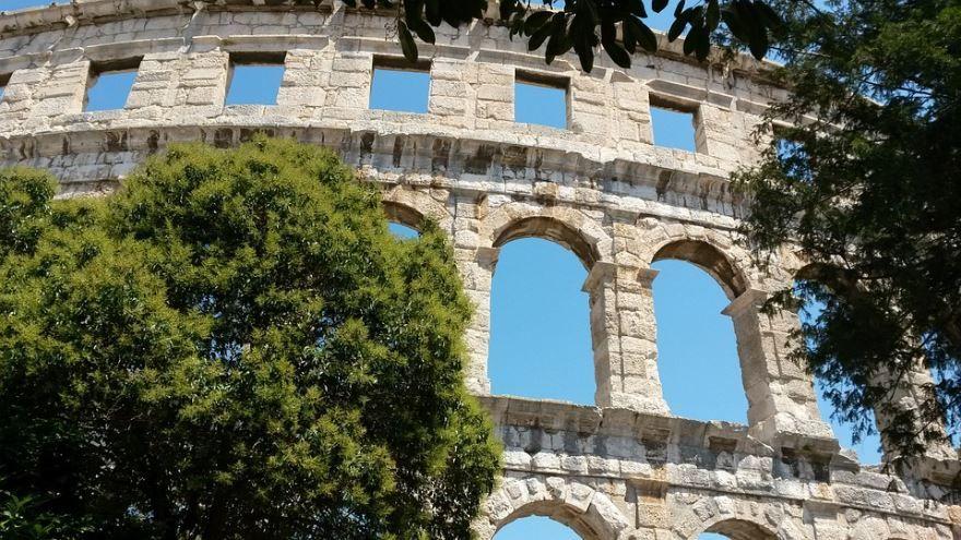 Амфитеатр города Пула Хорватия