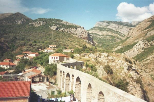 Фото города Бар Черногория