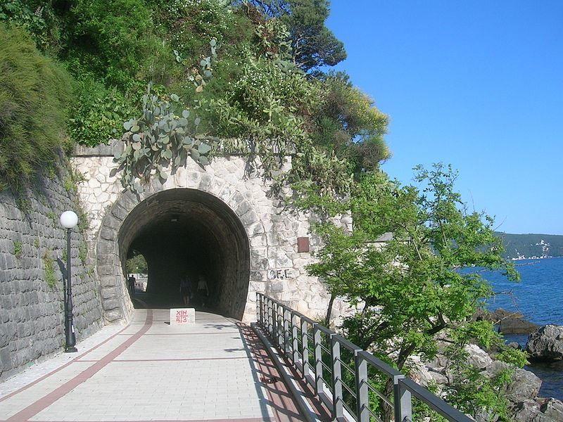 Бывший железнодорожный туннель