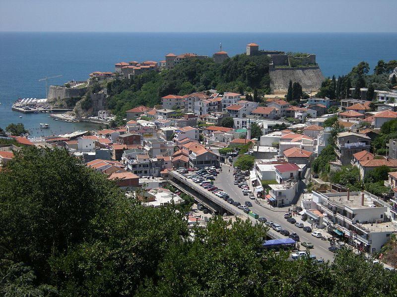 Фото города Улцинь Черногория