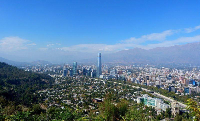 Фото города Сантьяго Чили