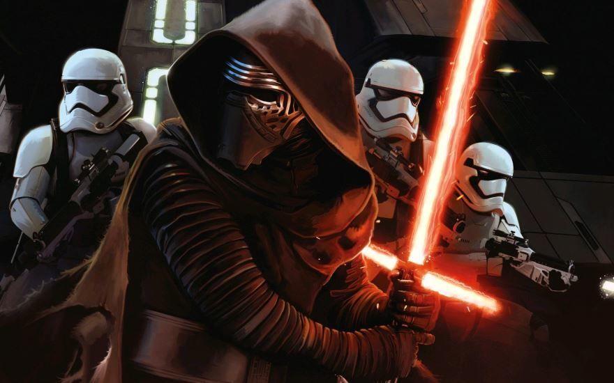 Смотреть бесплатно постеры и кадры к фильму Звездные войны: Пробуждение силы онлайн