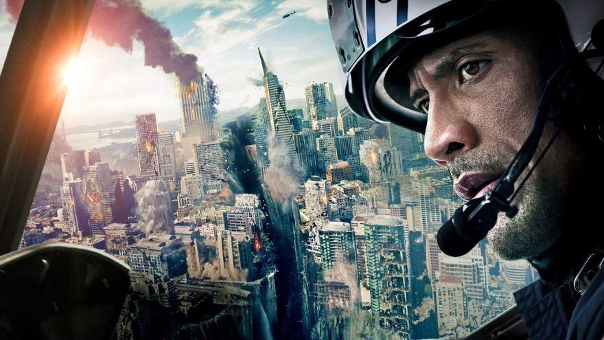 Скачать бесплатно постеры к фильму Разлом Сан-Андреас в качестве 720 и 1080 hd