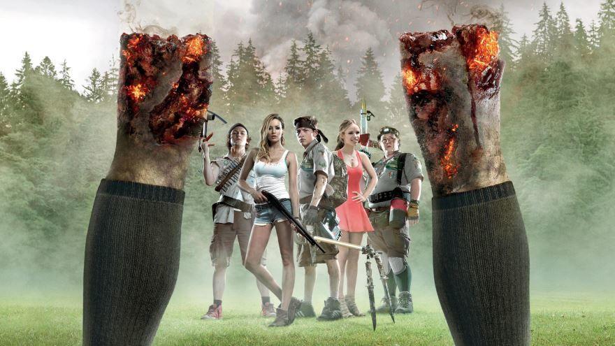 Скачать бесплатно постеры к фильму Скауты против зомби в качестве 720 и 1080 hd