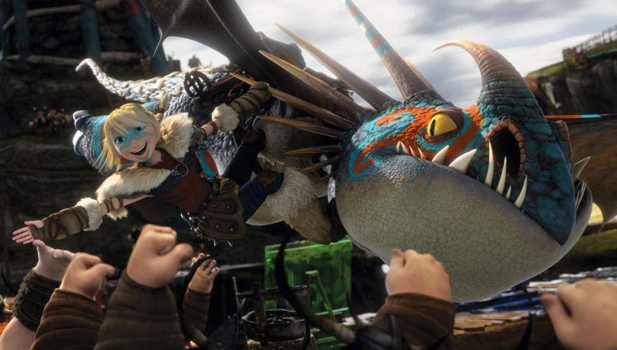 Смотреть онлайн кадры и постеры к фильму Как приручить дракона 2 бесплатно