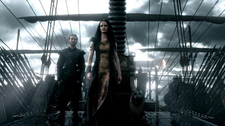 Скачать бесплатно постеры к фильму 300 спартанцев: Расцвет империи в качестве 720 и 1080 hd