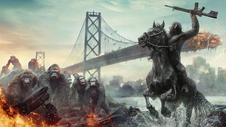Скачать бесплатно постеры к фильму Планета обезьян: Революция в качестве 720 и 1080 hd