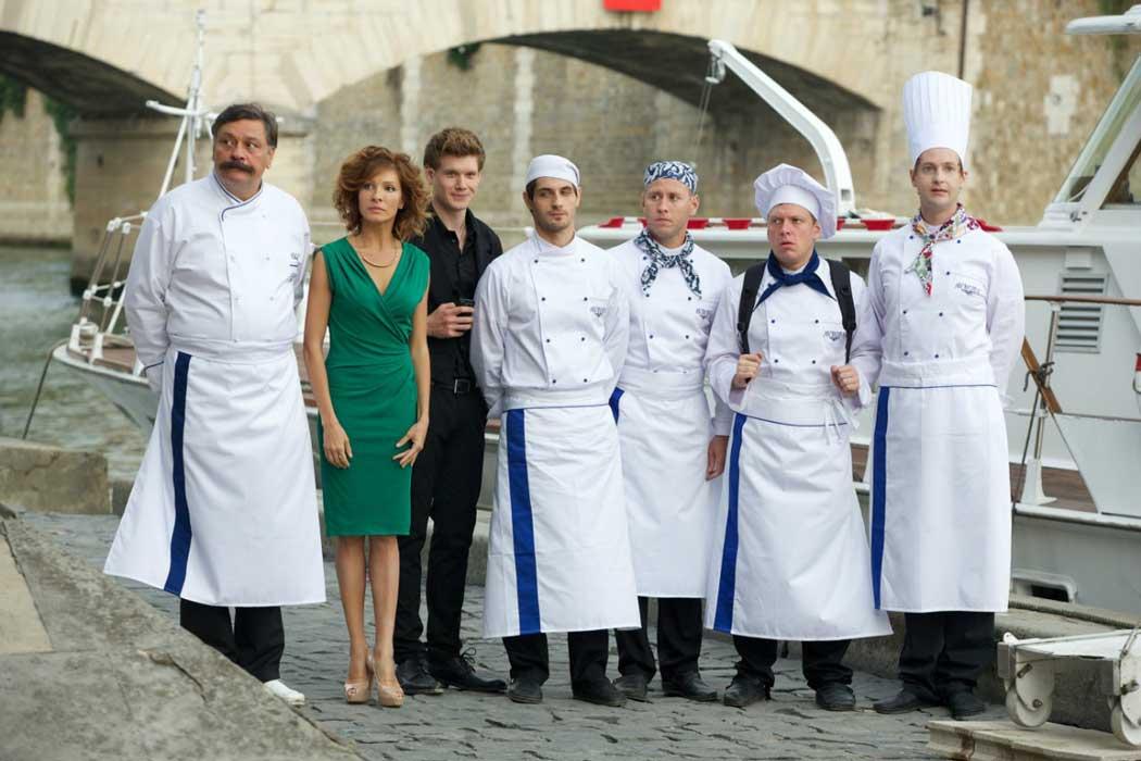 Скачать бесплатно постеры к фильму Кухня в Париже в качестве 720 и 1080 hd