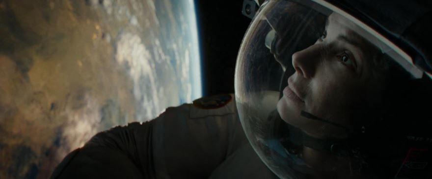 Кадры к фильму Гравитация в качестве 1080 и 720 hd 2013 года бесплатно