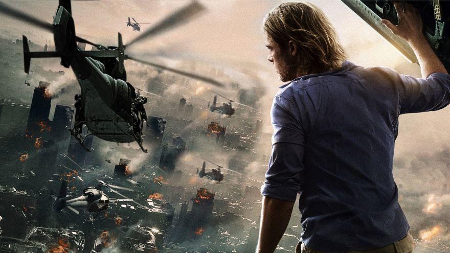 Смотреть онлайн кадры и постеры к фильму 2013 года Война миров Z бесплатно