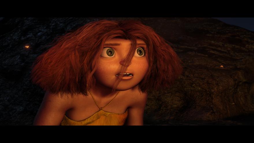 Смотреть онлайн кадры и постеры к фильму 2013 года Семейка крудс бесплатно