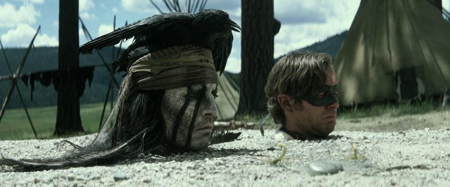 Смотреть онлайн кадры и постеры к фильму 2013 года Одинокий рейнджер бесплатно