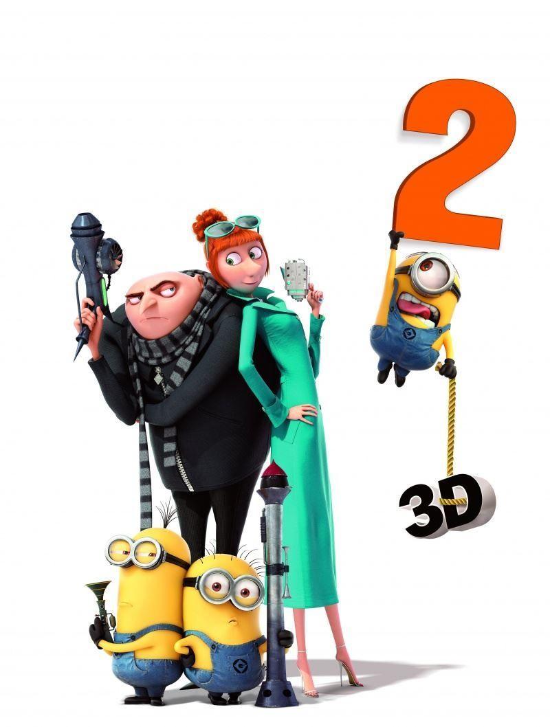 Красивые картинки и фото к фильму Гадкий я 2 2013 в hd качестве онлайн