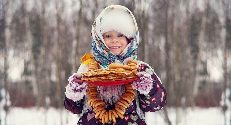 Масленица - фотография детей