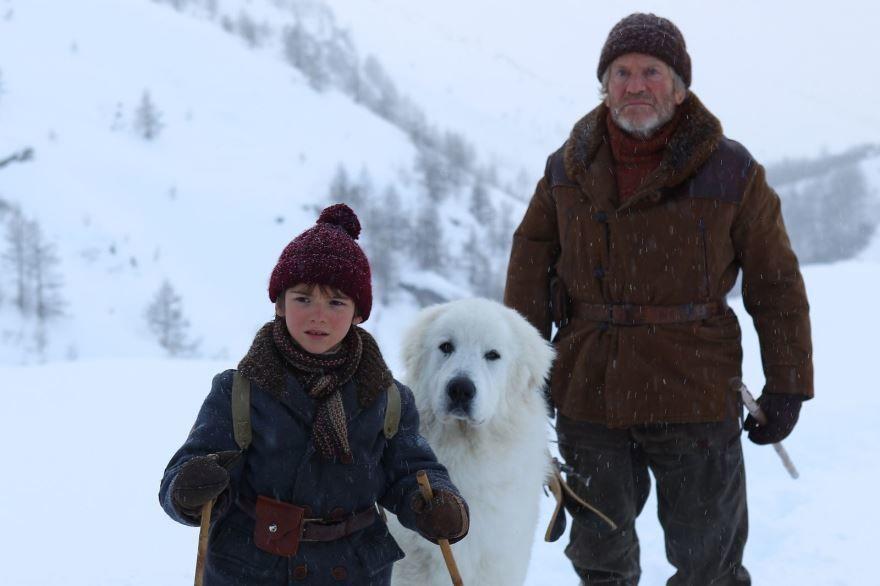 Скачать бесплатно постеры к фильму Белль и Себастьян в качестве 720 и 1080 hd