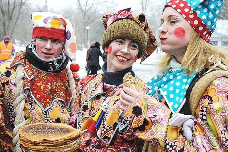 Праздник Масленицы на улице для взрослых