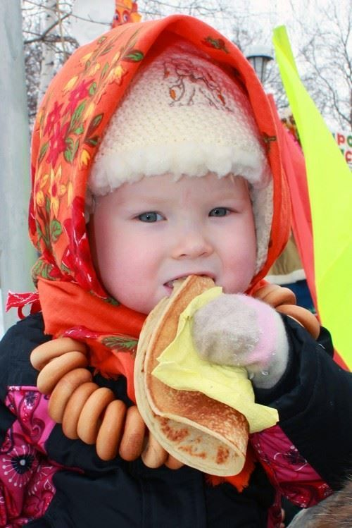 Масленица для детей на улице красивое фото