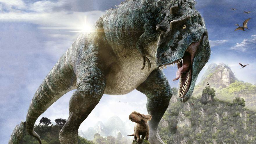 Скачать бесплатно постеры к фильму Прогулки с динозаврами 3D в качестве 720 и 1080 hd