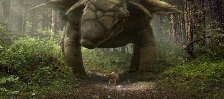 Кадры к фильму Прогулки с динозаврами 3D в качестве 1080 и 720 hd бесплатно