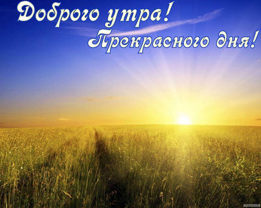 Доброго утра и хорошего дня картинки красивые