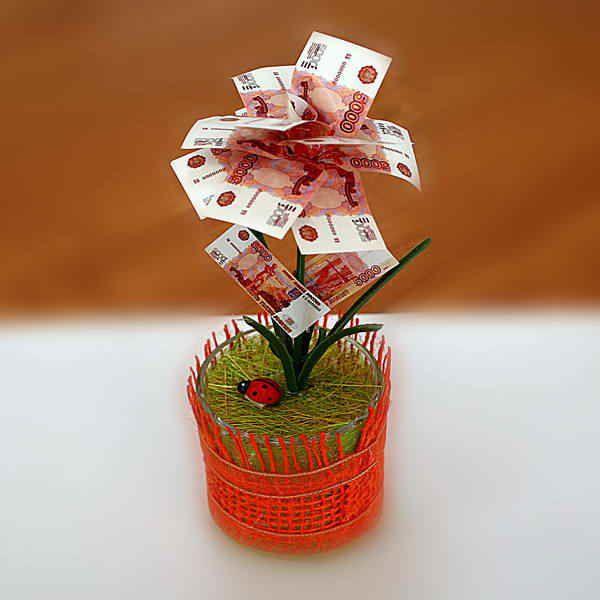 Подарок женщине на Юбилей, денежное дерево