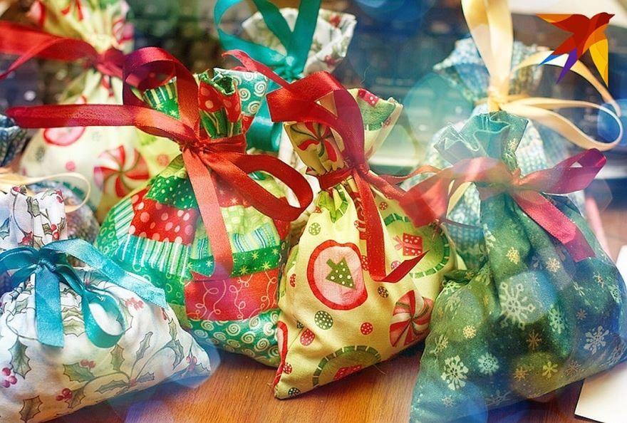 Картинки на сладких новогодних подарках