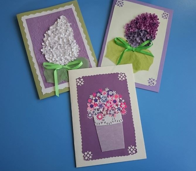 Надписью фиолетовая, открытка воспитателю от родителей своими руками