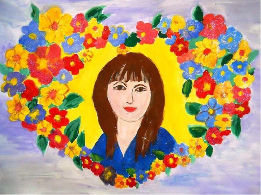 красивые подарок маме на день матери картинки рисунки проведением ритуала взвесьте