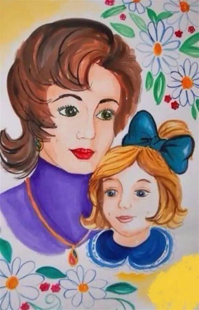 Картинки на день мамы рисовать