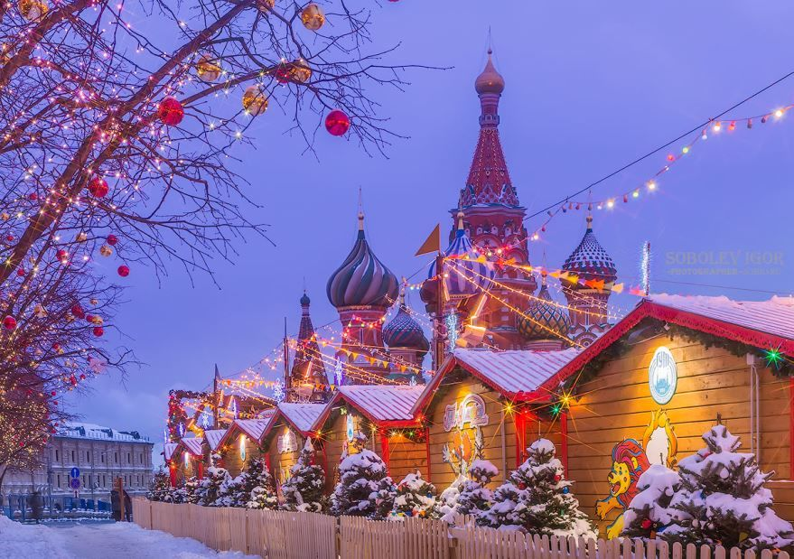 что фотографии рождества россия искажений