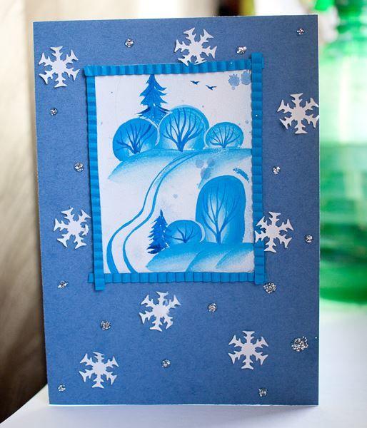 рождественские открытки сделать руками будете гордостью показывать