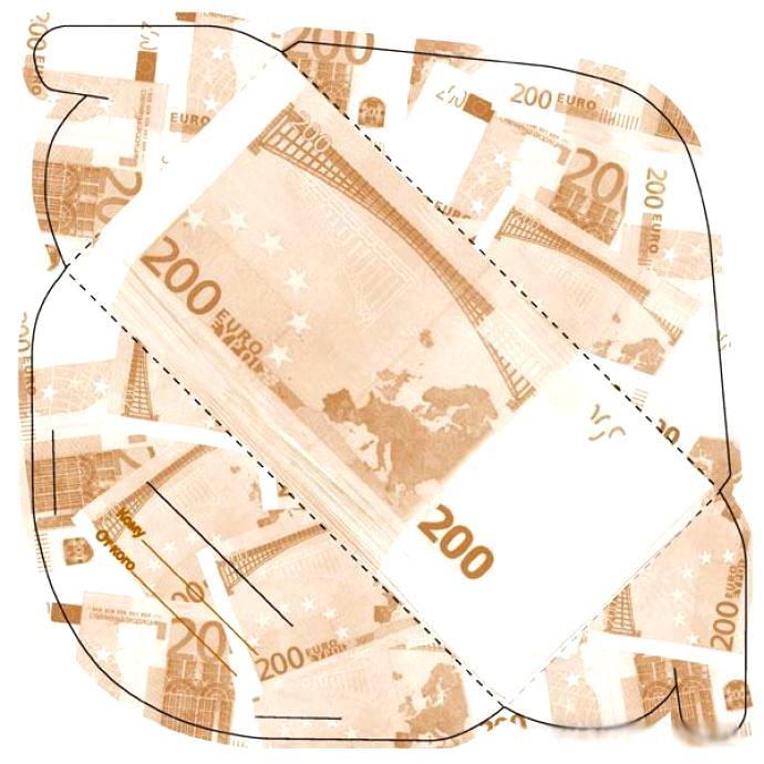 Конверт для денег на праздники