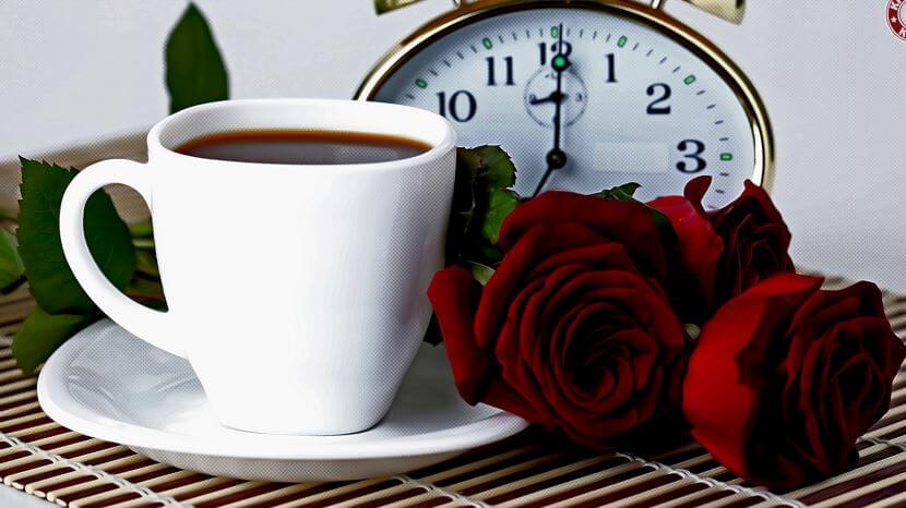 Фотография с кофе