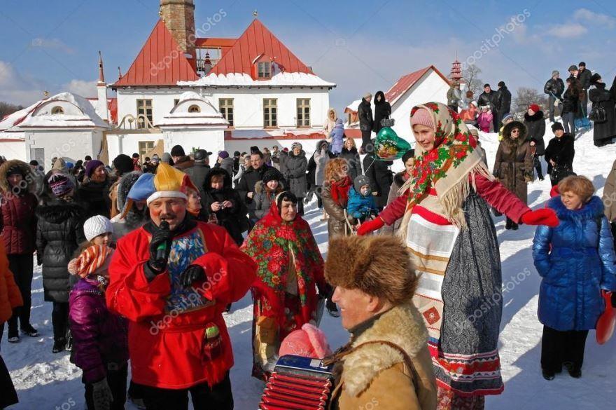 Скачать красивую картинку русские народные праздники