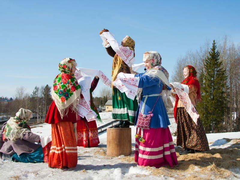 Картинки русских традиций и праздников