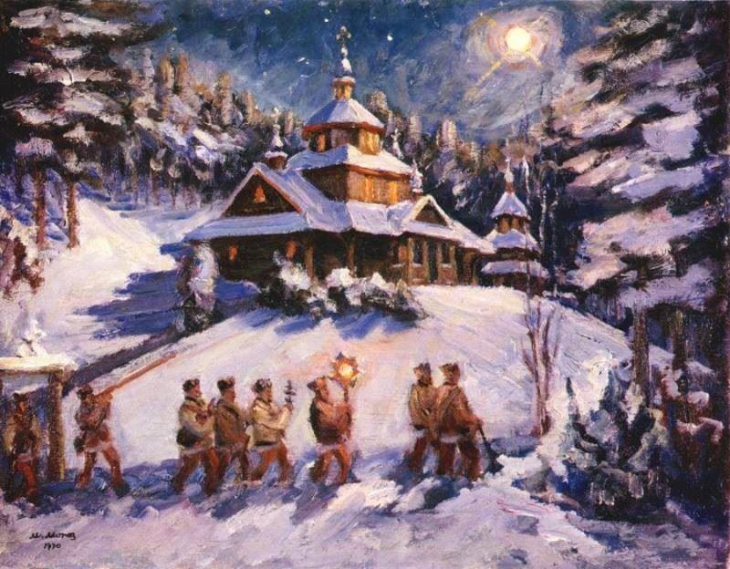 Зимние национальные праздники русских