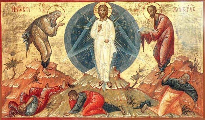 Православные праздники в России - Преображение Господне