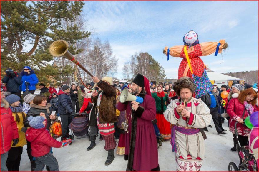 Православные праздники в России - Масленица