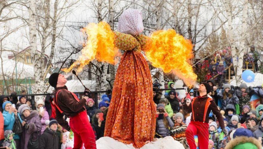 Православный праздник - Масленица