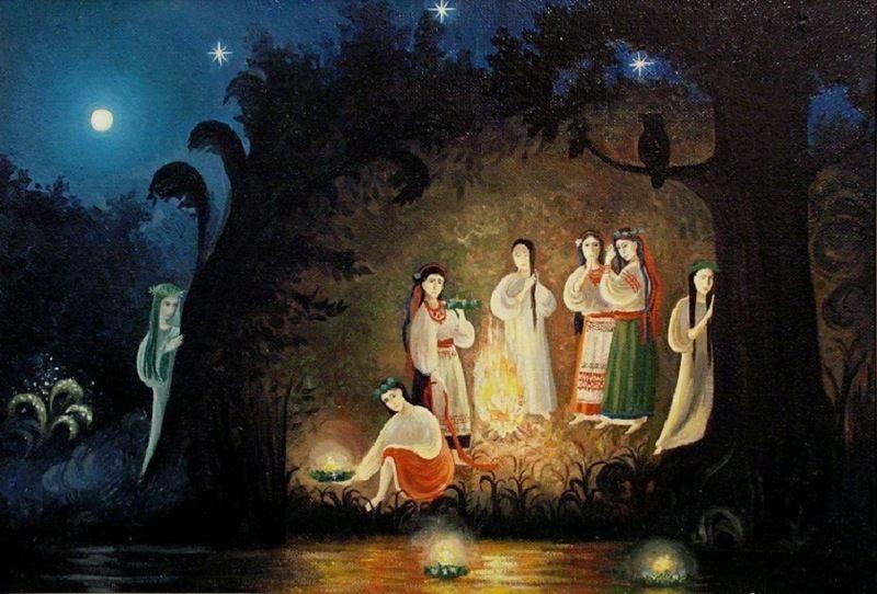 Красивая картинка праздник Ивана Купала