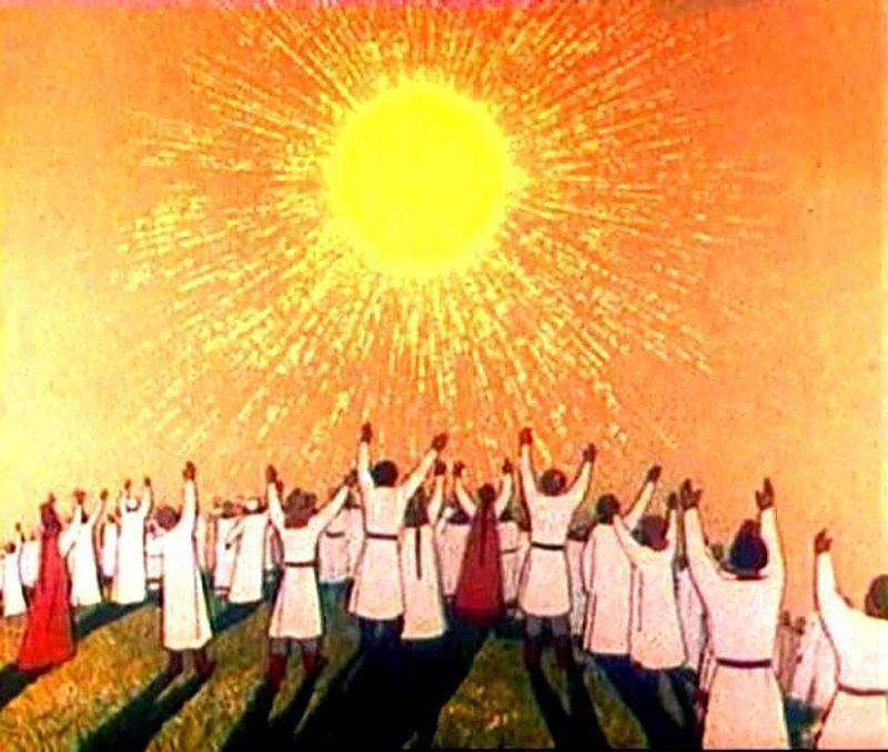 Праздник день летнего солнцестояния, обряды русского народа